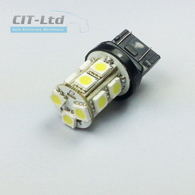 W21/5W LED Car Bulb 13x LED SMD 5050 A WHITE ...