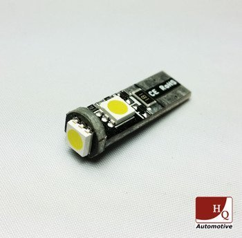 Car LED Light Bulb W5W 3xSMD-5050 CanBus GREEN