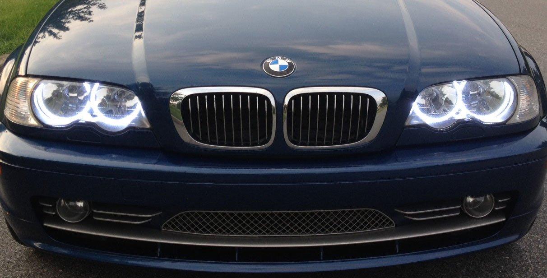 Bmw Angel Eyes Rings Smd Led Set Bmw E46 Coupe Angel Eyes Rings Smd Rings
