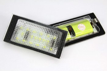 BMW 3 E46 Saloon License Licence Number Plate LED Lamp Light