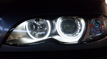 BMW Angel Eyes Rings SMD LED kit designed to fit BMW E46 Compact