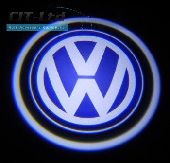 Door Courtesy Car Welcome Step Shadow Logo LED Light for VW