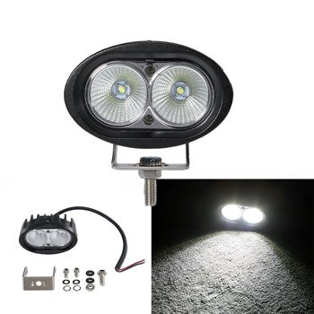 "LED WORK LIGHT BAR 4X4 OFF-ROAD ATV TRUCK QUAD FLOOD LAMP 4"" 20W - LB-C20WO"