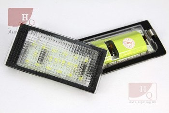 MINI COOPERR 56 License Licence Number Plate LED Lamp Light