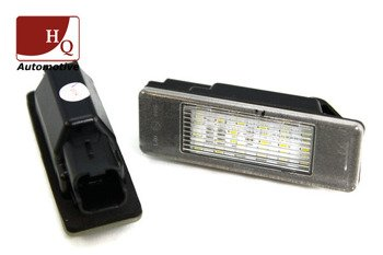 Peugeot Partner Citroen Berlingo License Licence Number Plate LED Lamp Light