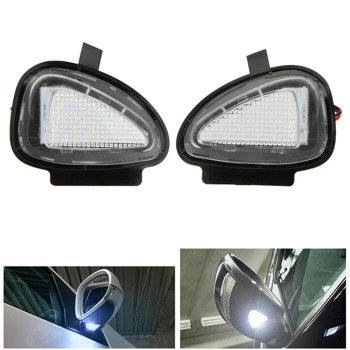 VW GOLF MK6 6 Passat Touran LED Vanity Mirror Lamp Light