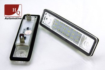 Vauxhall Zafira Astra Corsa Vectra License Licence Number Plate LED Lamp Light